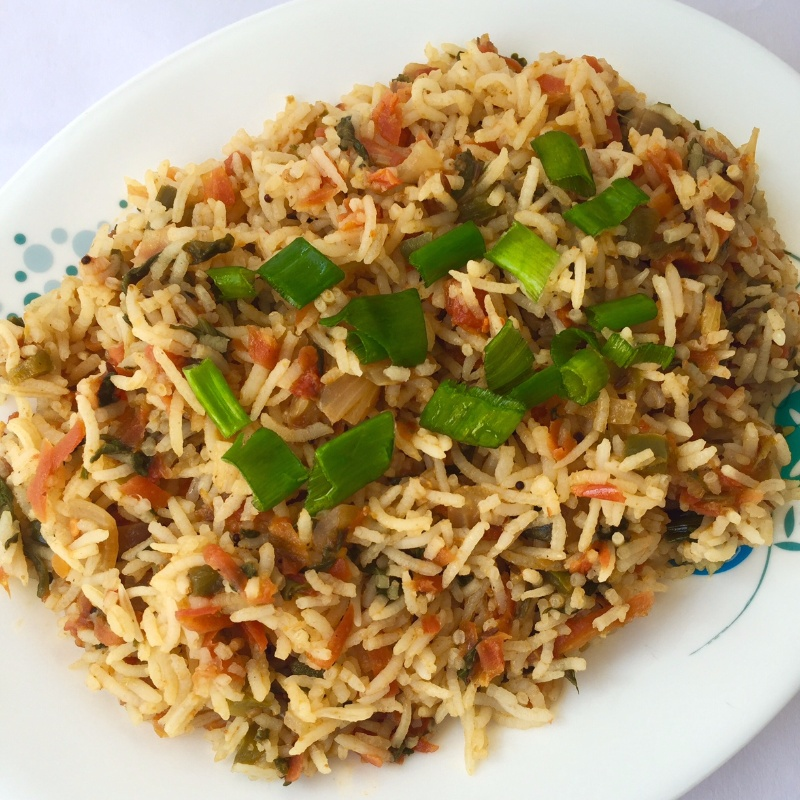 Photo of Spinach & Carrot Rice by Jyoti Bhalla Ahuja at BetterButter