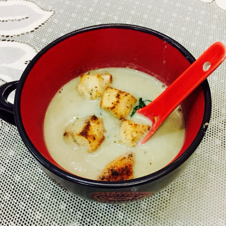 Photo of Mushroom Soup by Jyoti Bhalla Ahuja at BetterButter
