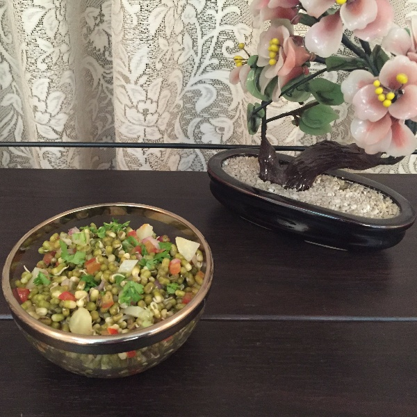 Photo of Moong Sprouts Salad by Jyoti Bhalla Ahuja at BetterButter