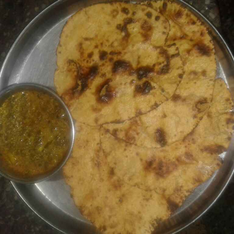 Photo of Makka ki puri by Jyoti Agrawal at BetterButter