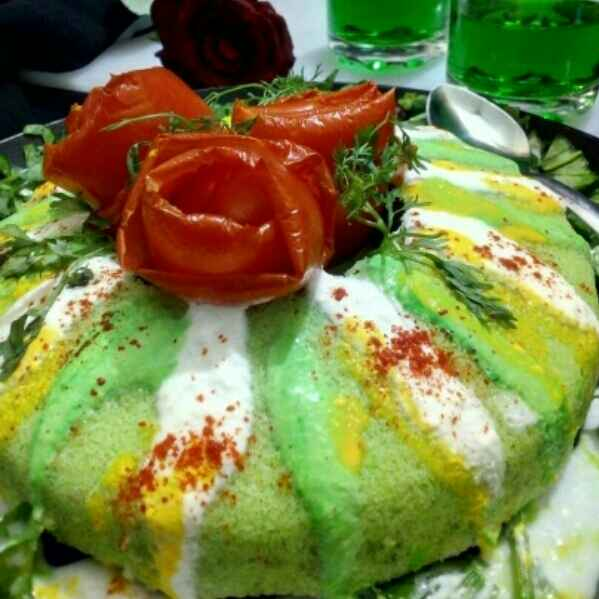 Photo of Falafal green ring cake in pressure cooker by JYOTI BHAGAT PARASIYA at BetterButter