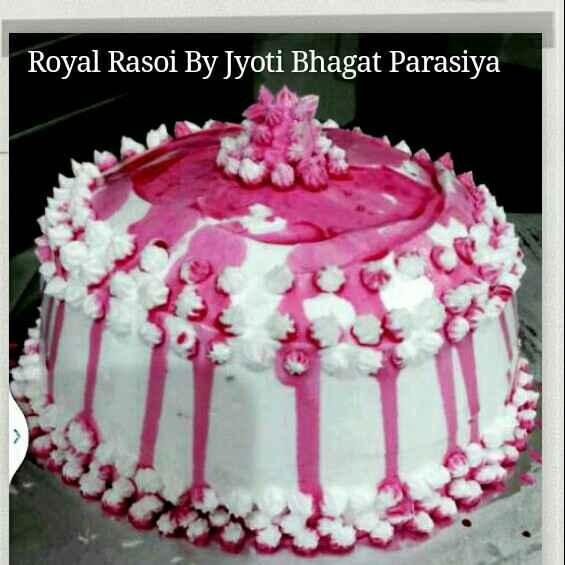 Photo of Rose & Vannila Pink Beauty Cake by JYOTI BHAGAT PARASIYA at BetterButter