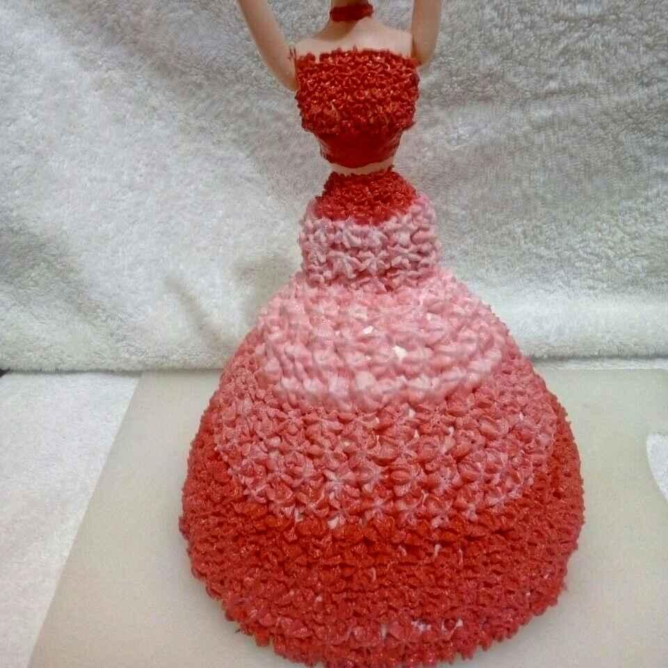 How to make Red velvet princess cake
