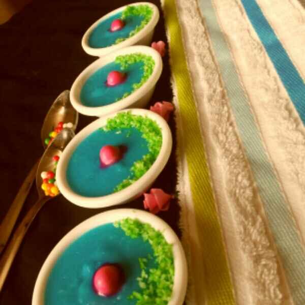 Photo of Blueberry Milk Pudding by JYOTI BHAGAT PARASIYA at BetterButter