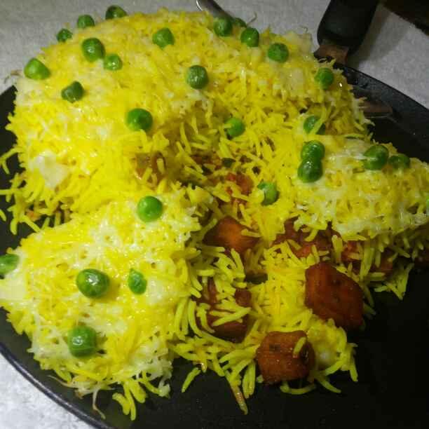 Photo of Baked cheesy biryani by JYOTI BHAGAT PARASIYA at BetterButter