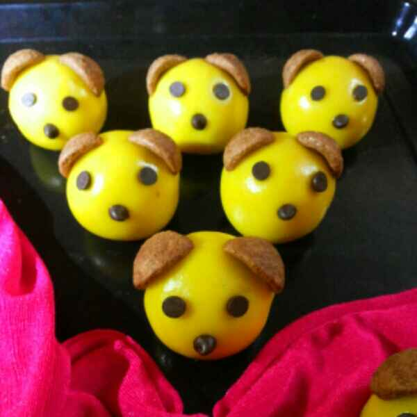 Photo of Puppy face Cookies by JYOTI BHAGAT PARASIYA at BetterButter