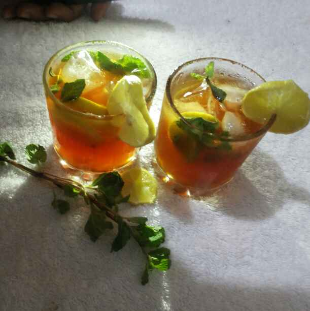 Photo of Masala mint lemon ice tea by JYOTI BHAGAT PARASIYA at BetterButter