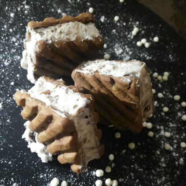 Photo of Ice-cream cookies by JYOTI BHAGAT PARASIYA at BetterButter