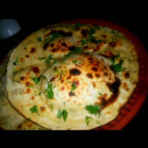 How to make Wheat flour buttet naan