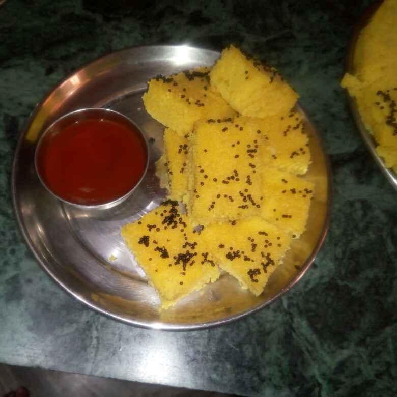 How to make Suji-besan dhokla