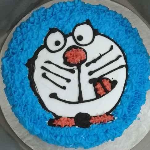 Photo of Doremon cake by Kaberi Bhattacharya at BetterButter