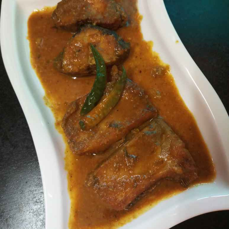 Photo of Katla fish curry with cumin seeds..... by Kaberi Karmakar at BetterButter