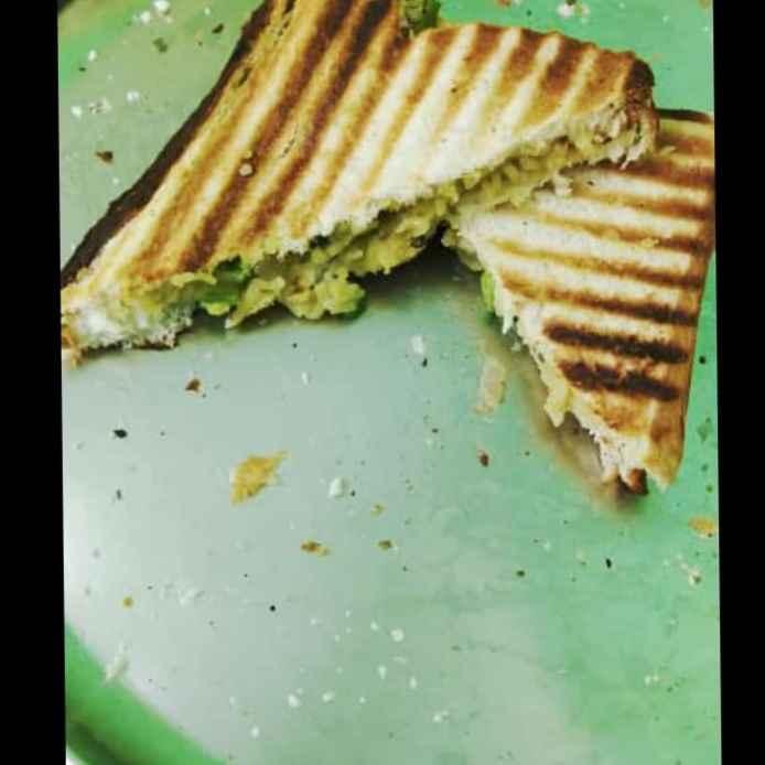 Photo of Grilled veg sandwich.... by Kaberi Karmakar at BetterButter