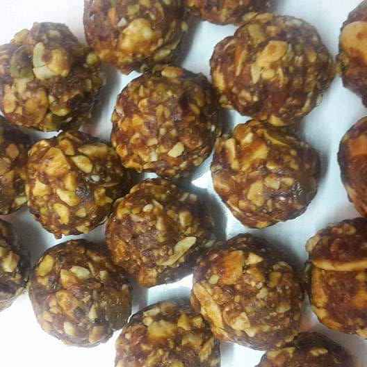 Photo of Dry fruits laddu.... by Kaberi Karmakar at BetterButter