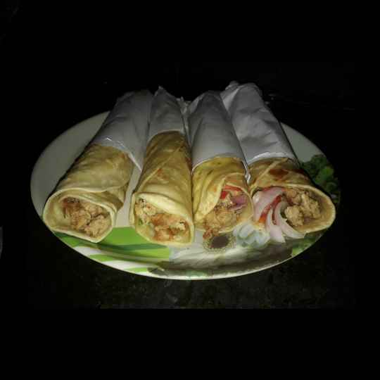 Photo of Chicken kebab roll by KAKALI DAS at BetterButter