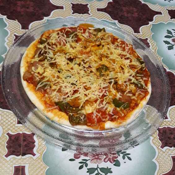 Photo of Veg Pizza by Kakuli Sadhukhan at BetterButter