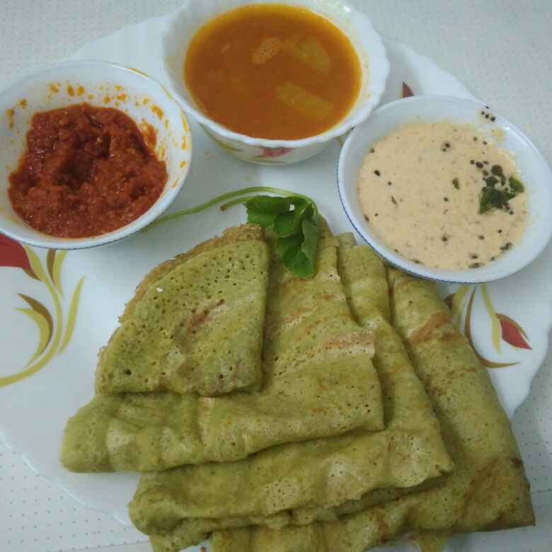 Photo of Spinach dosa by Kalai vani at BetterButter
