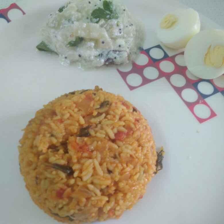 Photo of Tomato rice by Kalai vani at BetterButter