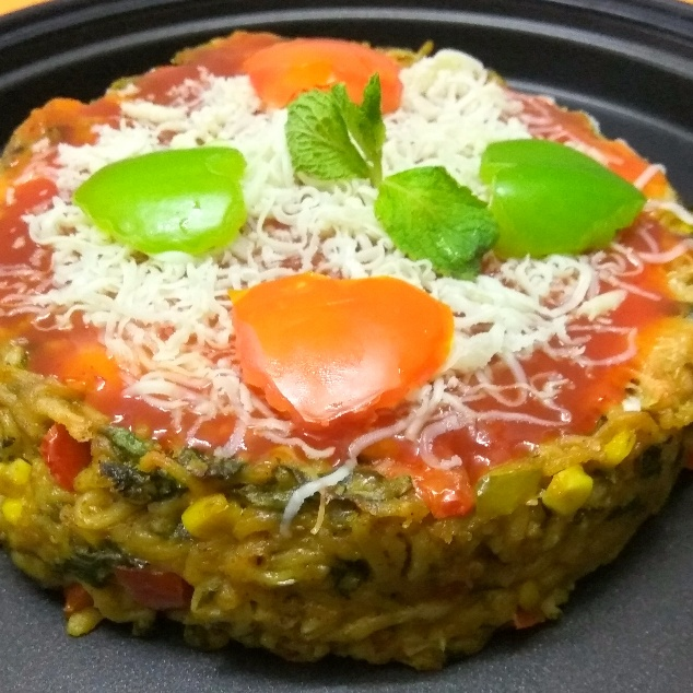 How to make Vegetable Maggie cake