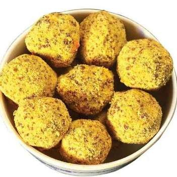 Photo of Thinai nuts laddu by Kalpana Kalpu at BetterButter