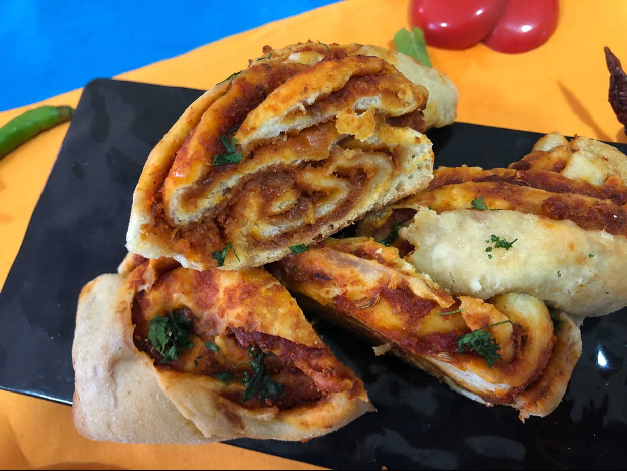 Photo of achari bread by Kalpana Parmar at BetterButter