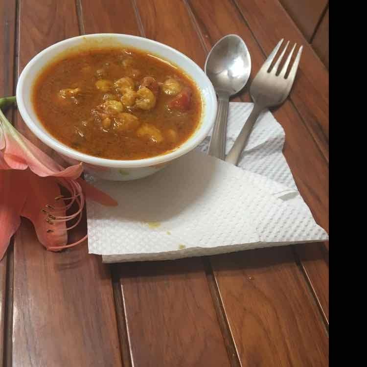 Photo of Mango Prawns Curry by Kalpana Patel at BetterButter
