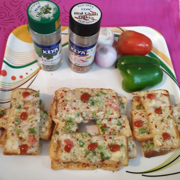 Photo of Chees Chilli Toast by kalpana solanki at BetterButter