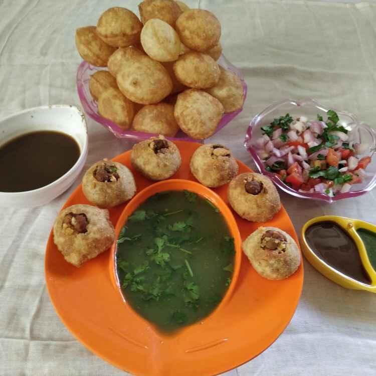 Photo of Panipuri by kalpana solanki at BetterButter