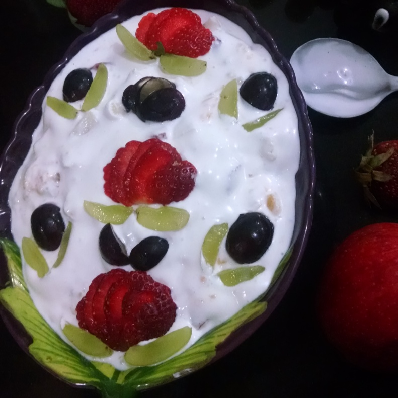 Photo of FRUIT CREAM by Kalpana Vinay at BetterButter