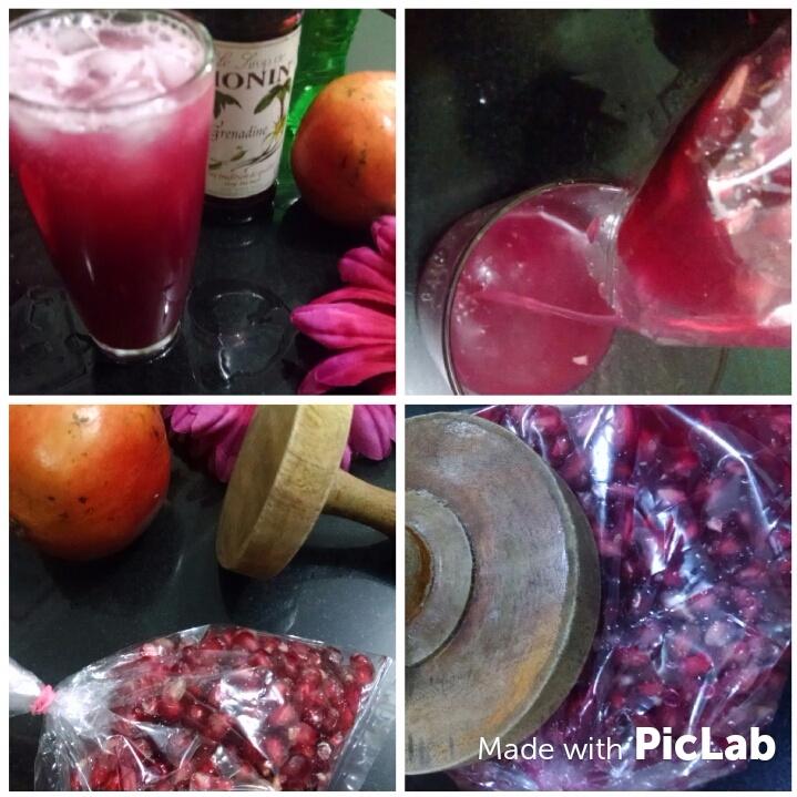 How to make Fresh Pomegranate Juice