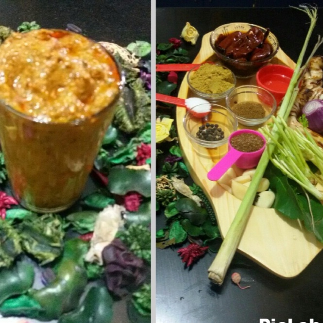 How to make Thai Red Curry Paste