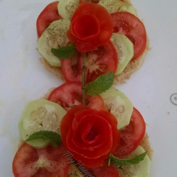 Photo of Open Sandwich  by Kalpana Vinay at BetterButter