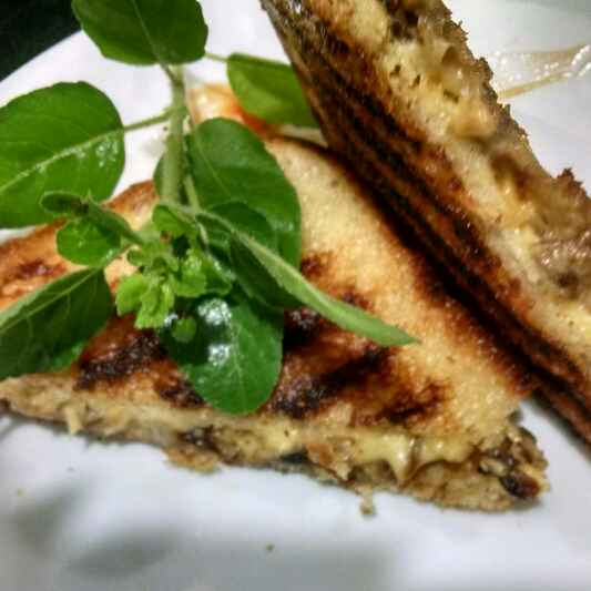 How to make Grilled Mushroom Sandwich