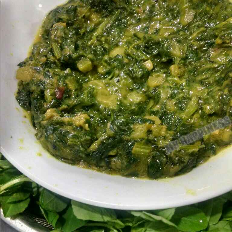Photo of GREEN BHAJI by Kalpana Vinay at BetterButter