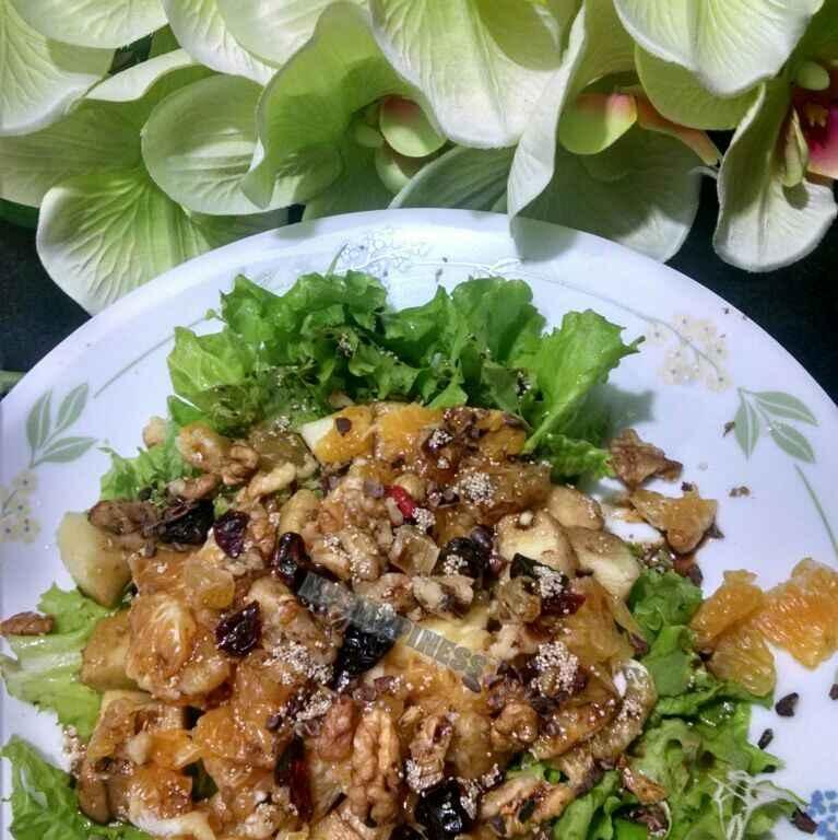 How to make FRUITY SALAD