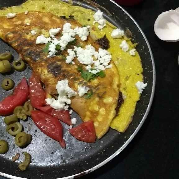Photo of Mediterranean Omelette by Kalpana Vinay at BetterButter