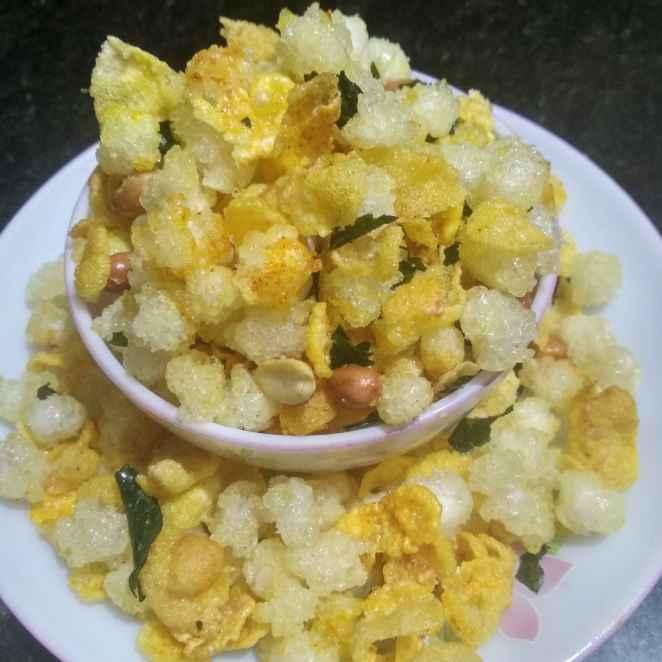 Photo of Sagu corn flakes by kalyani shastrula at BetterButter