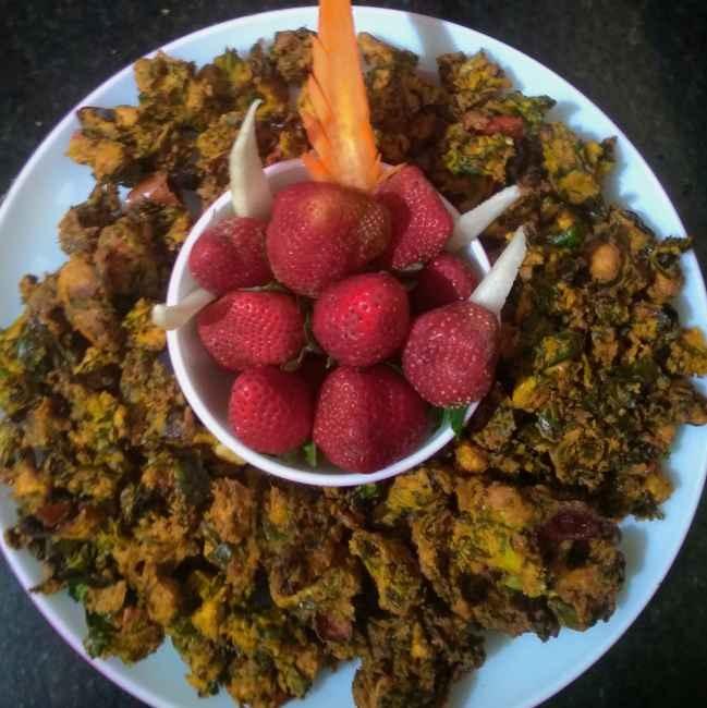 Photo of Raddish leaf pakoda by kalyani shastrula at BetterButter