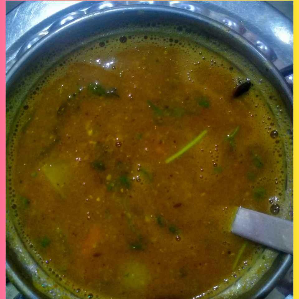 Photo of Masoor dal Sambar by kalyani shastrula at BetterButter