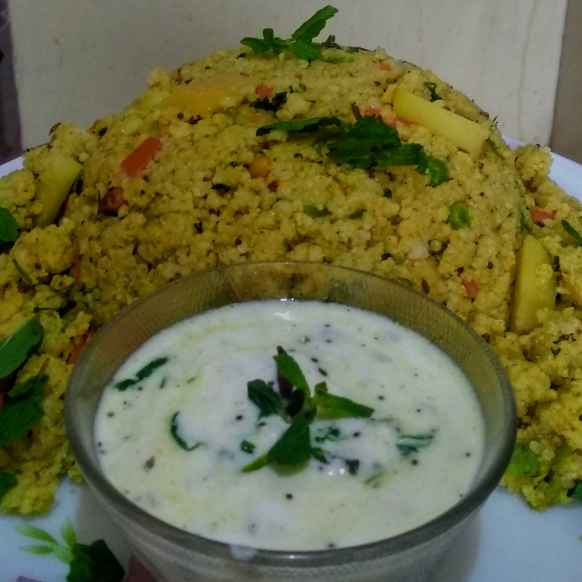 Photo of Little millet aloo bhaat  by kalyani shastrula at BetterButter