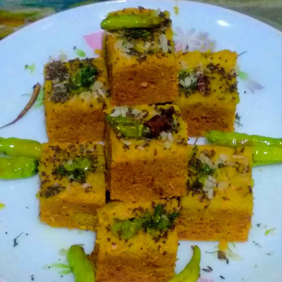 Photo of Moong dal dhokla by kalyani shastrula at BetterButter
