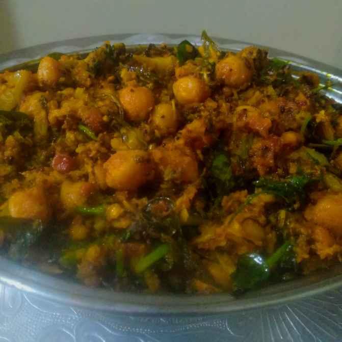 Photo of Chole aloo curry by kalyani shastrula at BetterButter