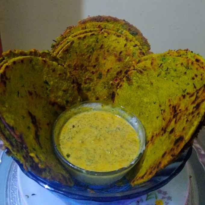 Photo of Radish leaf moong flour parota by kalyani shastrula at BetterButter