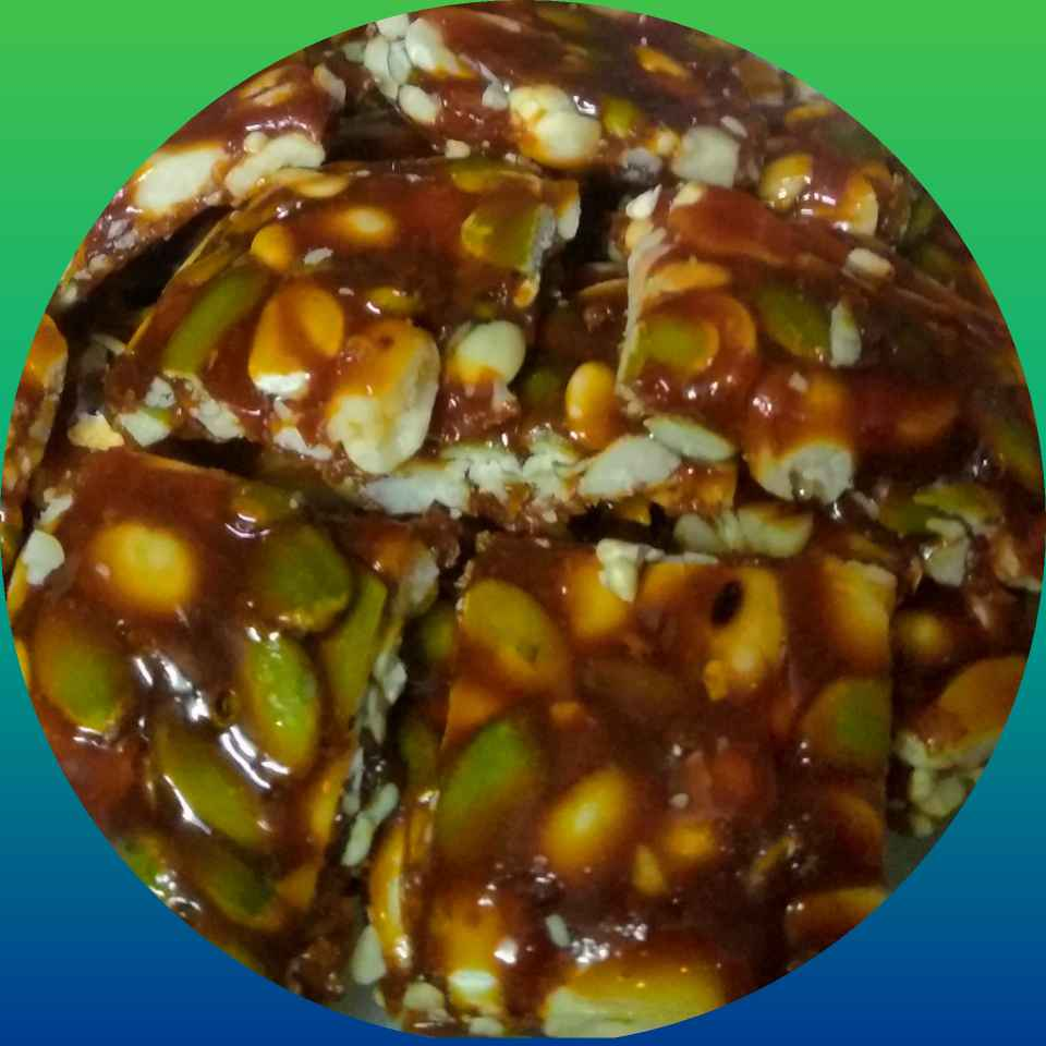 Photo of Pumpkinseeds ,ground nut chikki by kalyani shastrula at BetterButter
