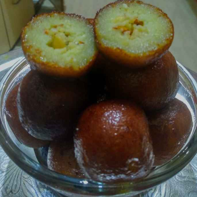 Photo of Paneer kova gulabjamun by kalyani shastrula at BetterButter