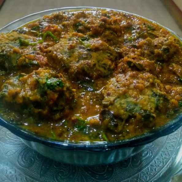 Photo of Taro leaves rajma kofta curry  by kalyani shastrula at BetterButter