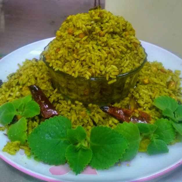 Photo of Carom leaf rice by kalyani shastrula at BetterButter