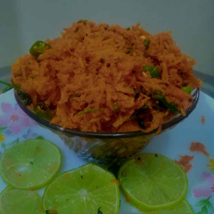 Photo of carrot masala chat by kalyani shastrula at BetterButter