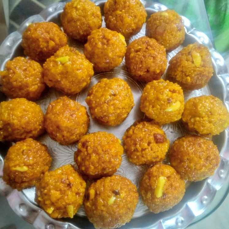 Photo of Laddu by kalyani shastrula at BetterButter