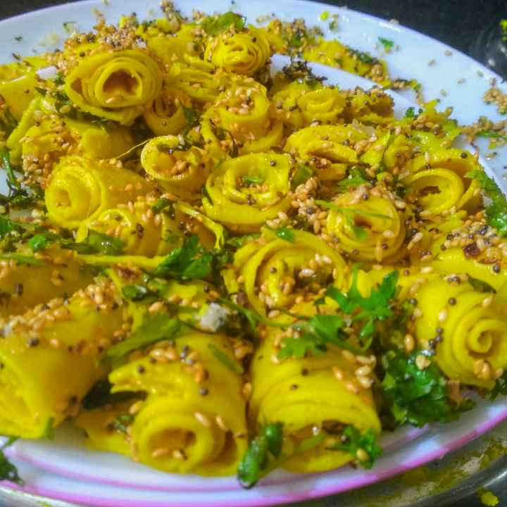 Photo of Khandvi by kalyani shastrula at BetterButter